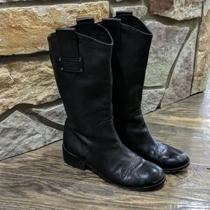 """Marc by Marc Jacobs Mid Calf Leather Boot 1"""" 9"""
